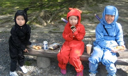 Pint-size ninjas