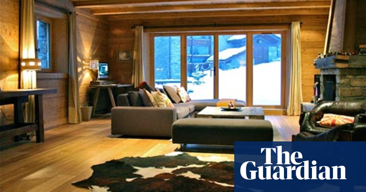 Haute cuisine: a chic chalet with top-notch food   Travel   The Guardian