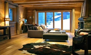 Haute cuisine: a chic chalet with top-notch food | Travel | The Guardian