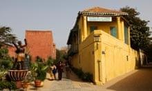 The Musée de la Femme on Gorée island.