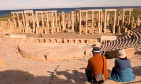 The Theatre, Leptis Magna