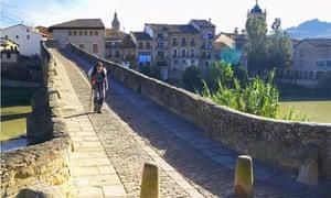 Puente la Reina, on the Camino de Santiago