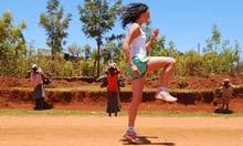 Kenya Experience runner
