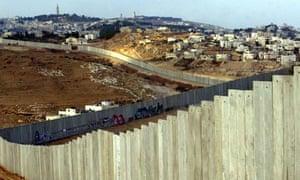 Israeli barrier