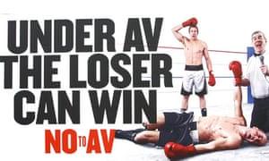 No to AV, London, April 15, 2011