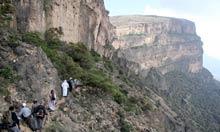 Oman mountainside