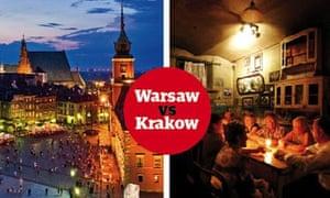 Warsaw vs Krakow