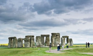 Stonehenge, end of the Great Stones Way