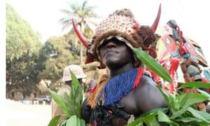 Bijagos villager Guinea-Bissau