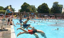 Swimming, Brockwell Lido