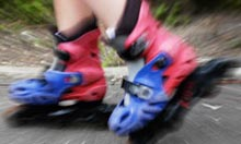 Rollerblading, Battersea Park