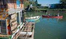 Canoeing on Gowanus canal