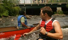 Paddling the Bronx River