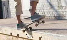 Skateboarding in TriBeCa