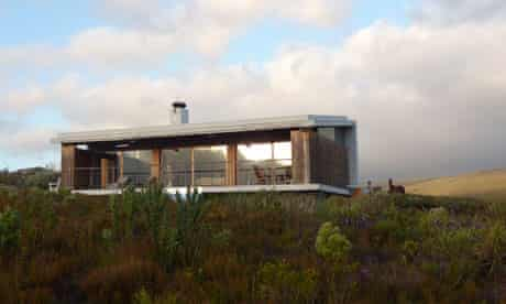 Green setting … one of the 'fynbos suites' at Farm 215