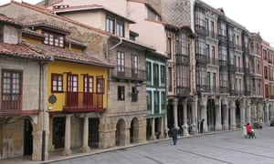 Aviles old town