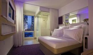Premium cabin, Yotel, New York