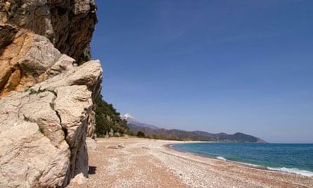 Readers - beach of Olympus, Cirali