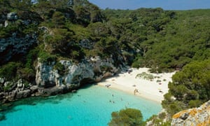 Kayaking in Menorca - Macarellata