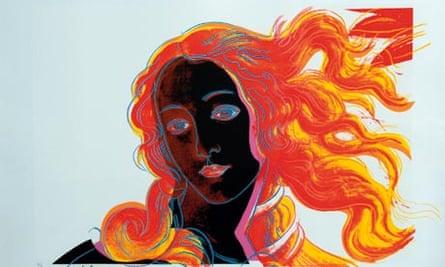 Warhol's Birth of Venus