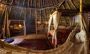 Staying In A Replica Iron Age Roundhouse Travel The