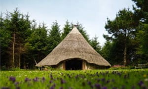 The Roundhouse uses Iron Age construction methods