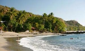 Montezuma beach, Costa Rica
