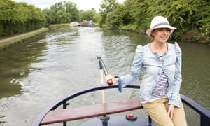Canal boating in London