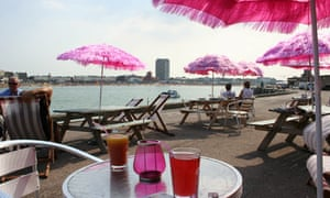 BeBeached cafe, Margate pier