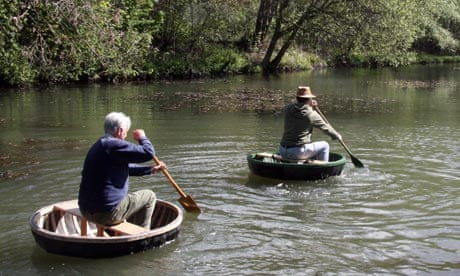 Float your boat: a quick course in coracle-making | Travel