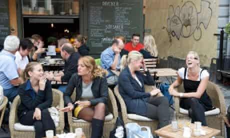 A bar in Stockholm