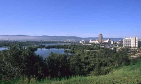 City in Krasnoyarsk