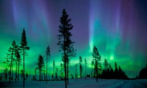 Aurora borealis in Abisko