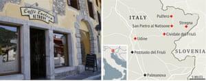 Enoteca ai Trevi and the Friuli region