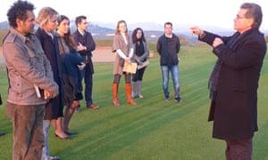 Sarfraz Manzoor gets his history lesson from Professor Vallianos