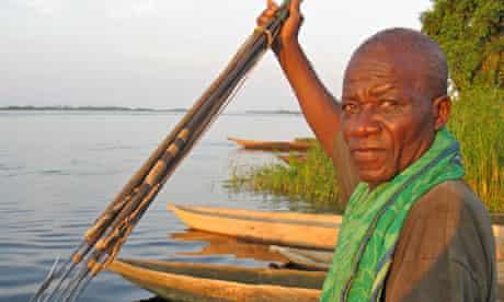 Canoeing the Congo - Lukolela village