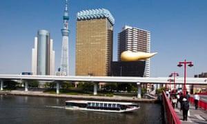 Odaiba-Asakusa river bus