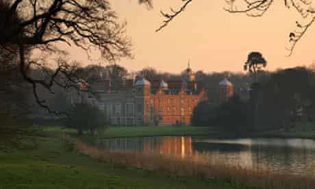 Sunset at Blickling Hall, Norfolk, England