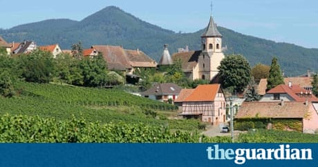 top 10 guide to the alsace wine route travel the guardian. Black Bedroom Furniture Sets. Home Design Ideas