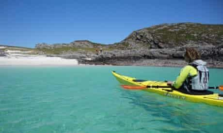 Sea kayak to remote beaches from Lochalsh
