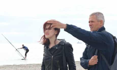 Vicky with windsurfing maestro Maiusz