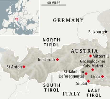 Tirol map