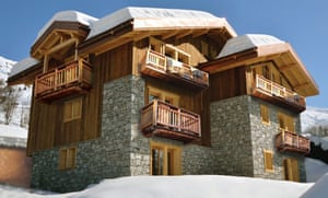 Chamois Lodge in the Three Valleys