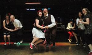 Swing dancers in Bristol