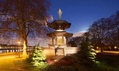 Battersea Park Peace Pagoda, London