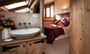 Bedroom at Ferme du Ciel