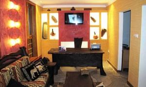 Inside Afrika hotel, Kigali, Rwanda
