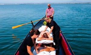 Gondola massage, San Diego