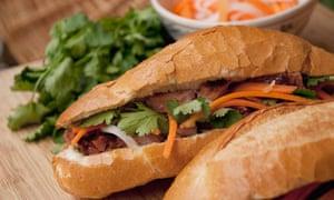 Banh Mi pork roll, Vietnam