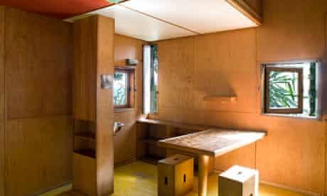 Le Corbusier's Cabanon, interior